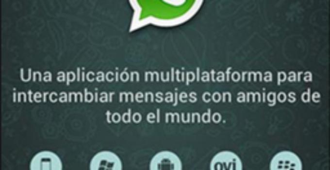 bienvenidos a whatsapp