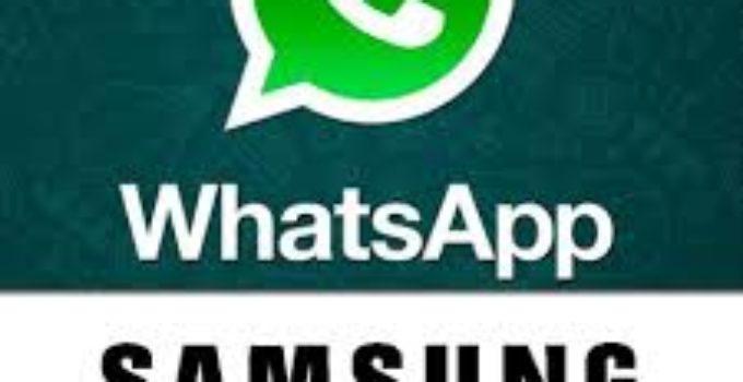 descargar whatsapp para samsung