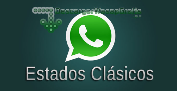 Estados clásicos de WhatsApp